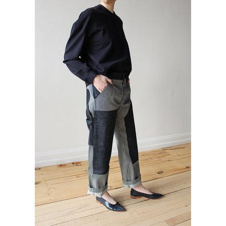 Nomia Painter Pants - Indigo/White