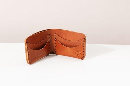 Foxtrot Studio Bifold Wallet - Cognac