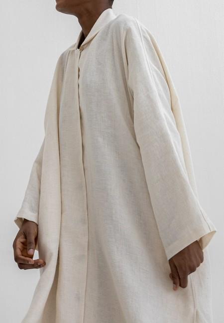 Lauren Manoogian Dormer Shirt Dress - Muslin