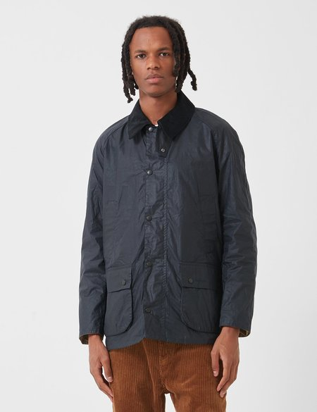 Barbour Lightweight Ashby Wax Jacket - Royal Navy Blue