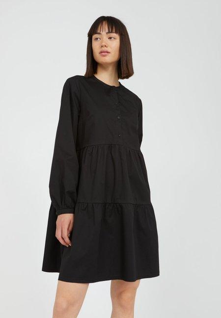 Armedangels Kobenhaavn Organic Cotton Mix Dress - black