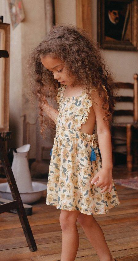 kids Louise Misha Mistinghette Dress - Cream Flowers