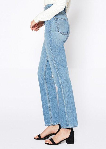 Noend Denim Dru Mom Straight Jeans