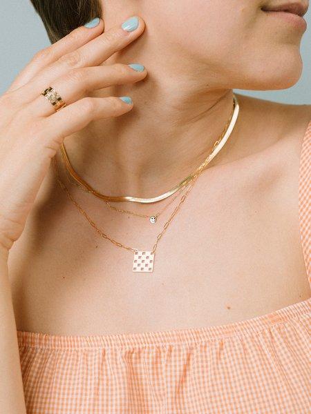 Gilbert Checkered Necklace