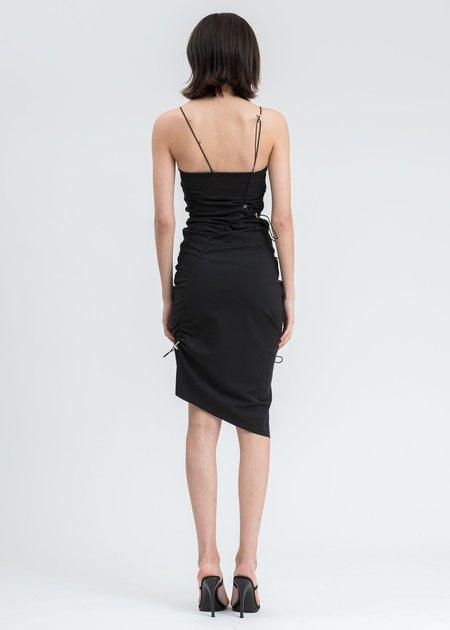 Heliot Emil Drawstring Dress - Black