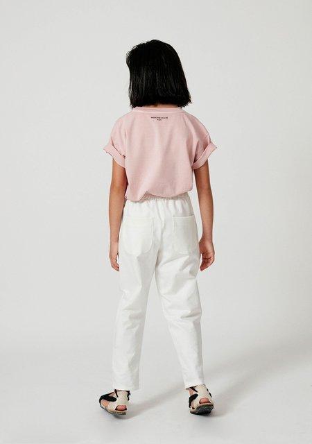 kids Weekend House Kids Swan T-shirt - Pastel Pink