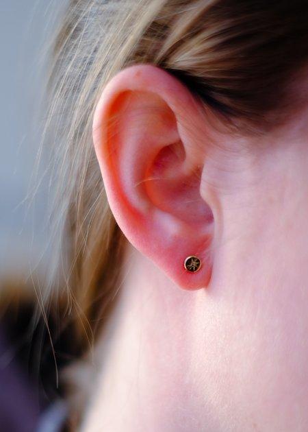 Gabriela Jewelry Diamond Earrings - 14K Gold