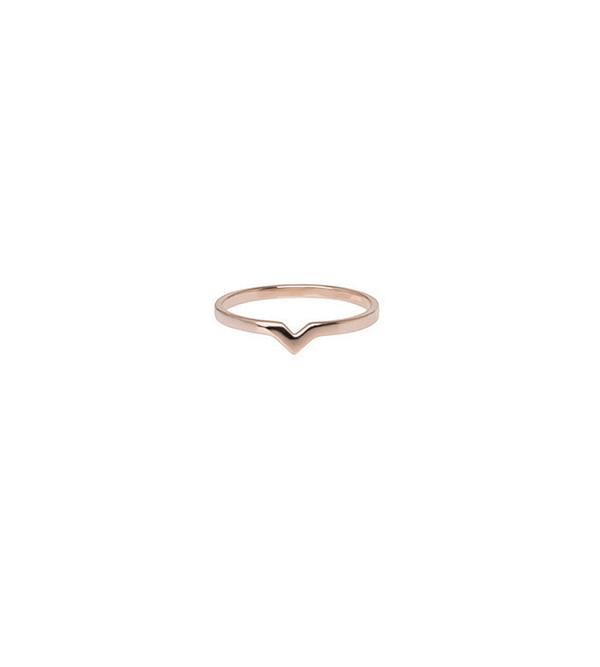 Maria Black Rose Gold Hero Ring