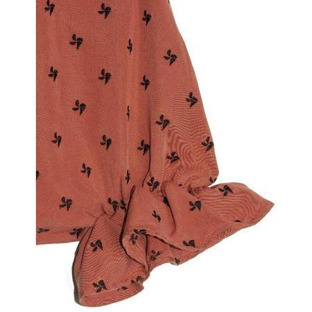 kids wolf & rita rosalina jumpsuit - red helix
