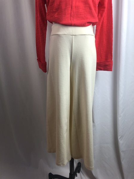 [pre-loved] Eileen Fisher Cream Pull-On Pant - Cream