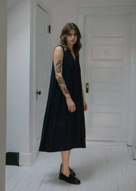 Steven Alan The Fargo Dress - Navy Noil