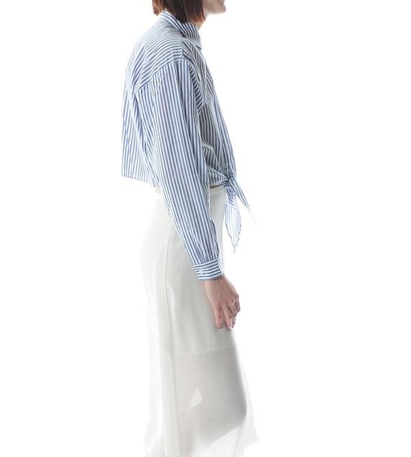 Apiece Apart Salamina Tie Front Shirt