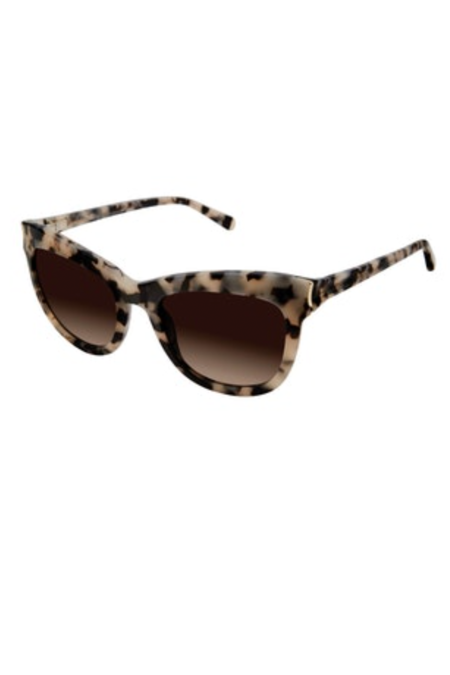 Kate Young For Tura Scarlett Sunglasses - Tortoise