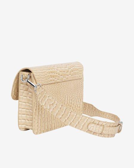 Hvisk Cayman Pocket Bag - Light Beige