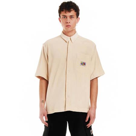 GCDS Short sleeves shirt - white