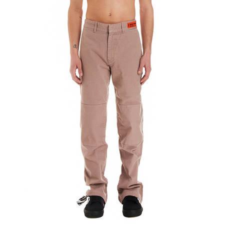 Heron Preston Garment dyed chino pants - Pink
