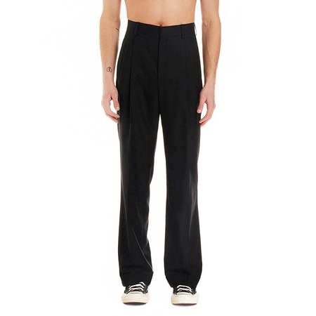 CASABLANCA Rio pleated pants - Black