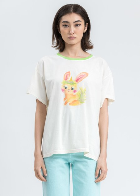 we11done Monster Tee Shirt - White