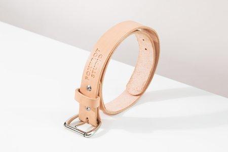 Foxtrot Studio Standard Belt - Natural