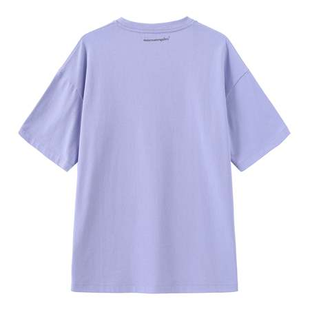 Unisex Matter Matters Oversized Long Tee With Pockets - Read Shit/Purple