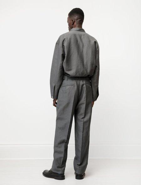 Lemaire Military Chino Pants - Dark Stone