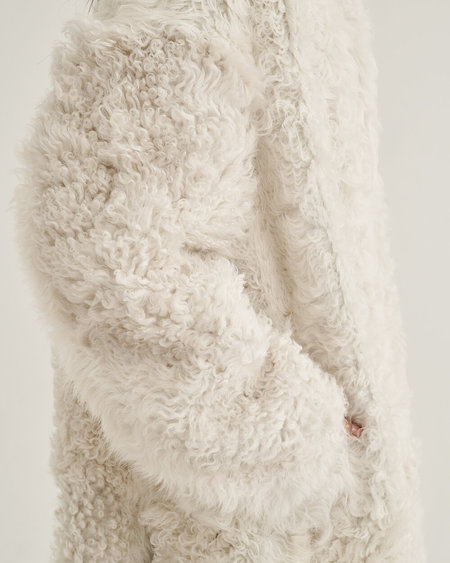 Alyson Eastman Sunday Coat - White