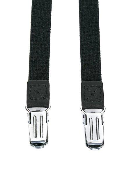Yohji Yamamoto Zipper Suspenders - Black