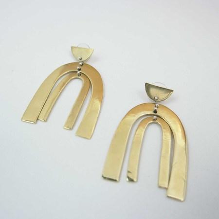 Seaworthy Belleza Earrings - Brass