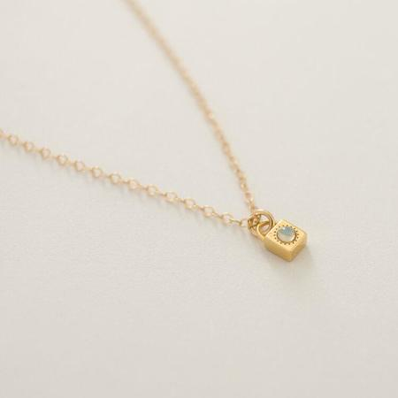Love Is You And Me Loner Necklace - Merewif