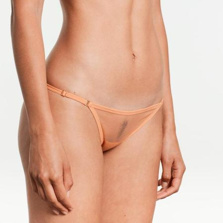 Yasmine Eslami Jeanne Bikini Brief - Peach