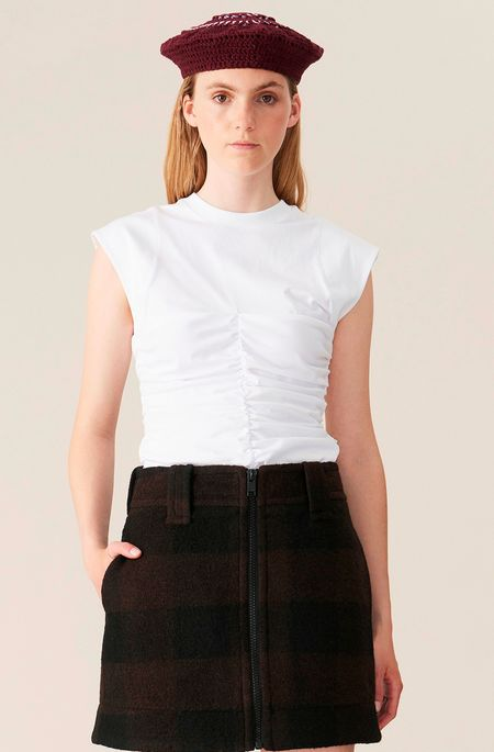 Ganni Fitted Top