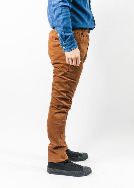 GRAMICCI BROWN TIGHT FIT NN PANT