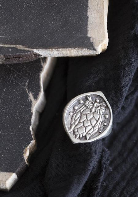 Creature's Virtue Nightowl Ring - Sterling Silver