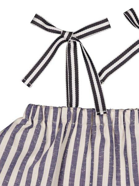 kids Petite Lucette Amelie Top - Ocean Stripes