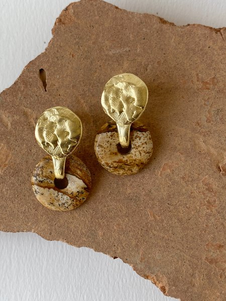 Mercurial NYC Helena Earring - 14k gold