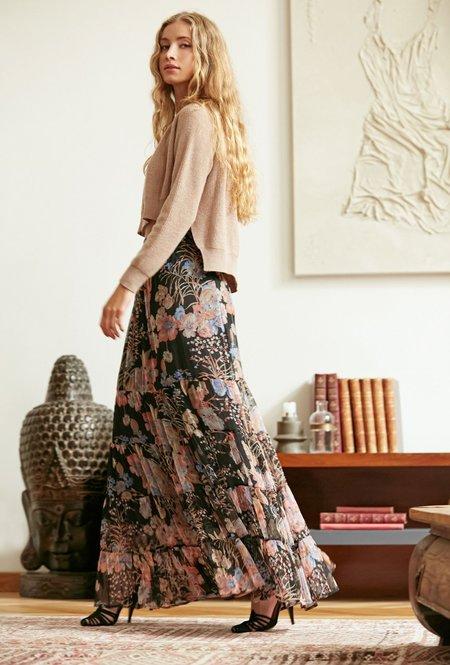 Mes Demoiselles Henna Floral Combo Skirt - multi