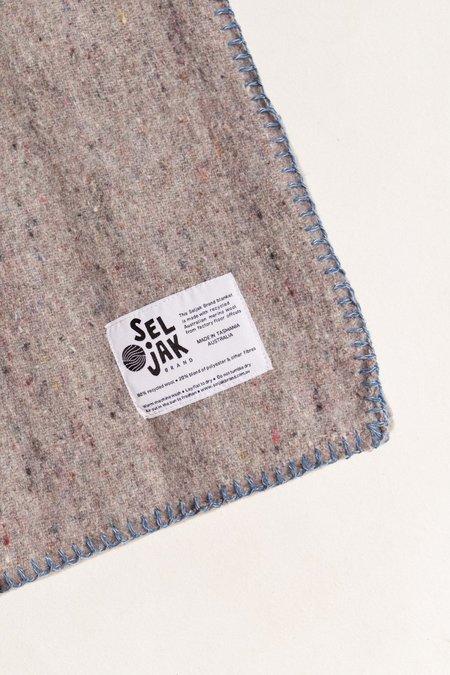 Kids Seljak Baby Play Blanket - blue/grey