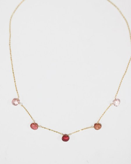 [Pre-loved] Perlina Shaker Necklace - Tourmaline