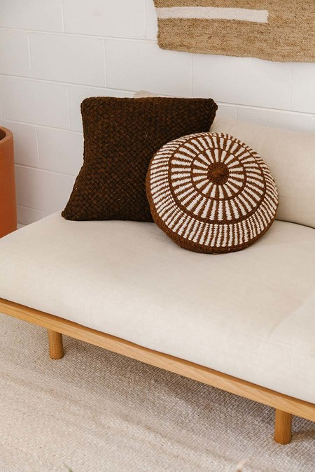 Pampa Monte Cushion #5 - Rust/Natural