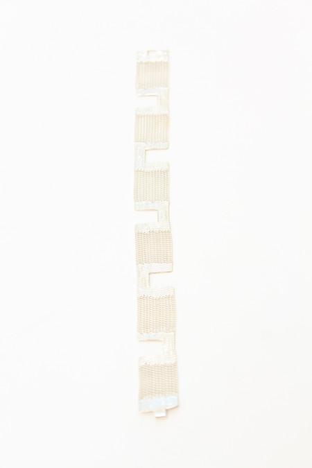 Hannah K Maze Bracelet - Sterling Silver