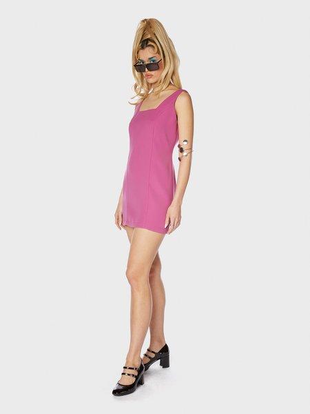 Animal Crackers Katrin Dress - Cosmic Fuchsia