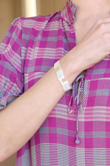 HannahK Maze Bracelet - Sterling Silver