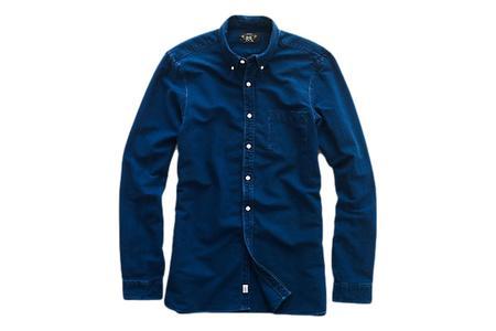 RRL Oxford Shirt - Indigo