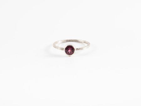 Sarah A. Sears Rhodalite Garnet Ring