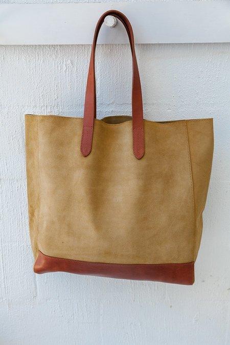 Pampa Sample #3 Porteño Carryall Bag - Brown/Cream