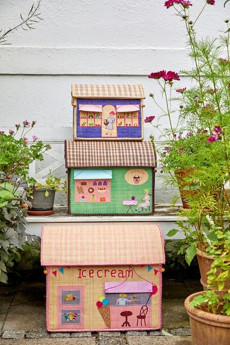 Kids Rice Medium Toy Basket - Shop Design
