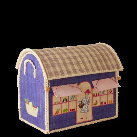 Kids Rice Small Toy Basket - Shop Design