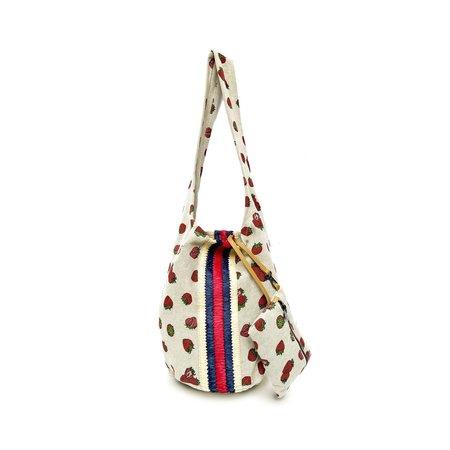 Maria La Rosa Storm Strawberry Bag