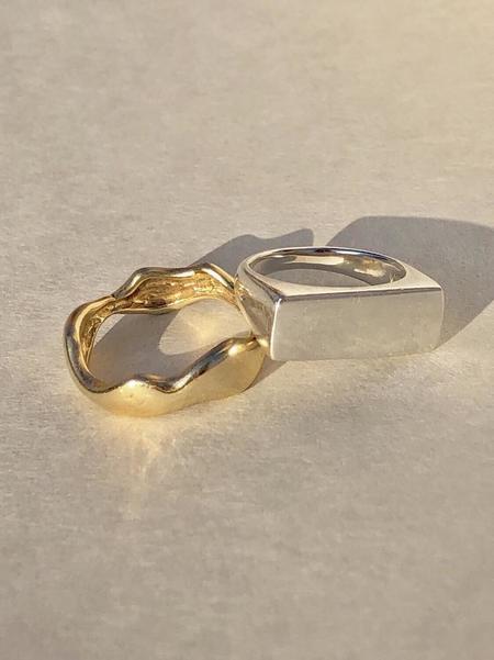Eugenia Chan Theodora Signet Ring - Silver
