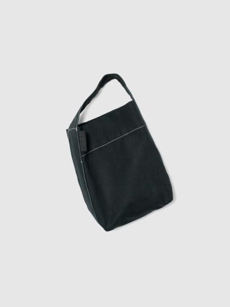 Kaan The Mini Bucket - Black w/ Contrast Stitching